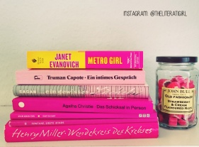 Books of Colour: Pink #Shelfie #Bookstagram @theliteratigirl