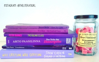Shades of Purple, Books of Colour! #Shelfie #Bookstagram @theliteratigirl