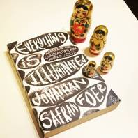 Everything is Illuminated by Jonathan Safran Foer is today's entry for E in the #atozchallenge #bookreview #bookstagram ©theliteratigirl