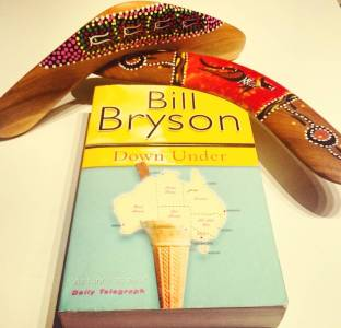 #atoz Challenge: Down Under by Bill Bryson. #Bookreview #atozchallenge #bookstagram ©theliteratigirl