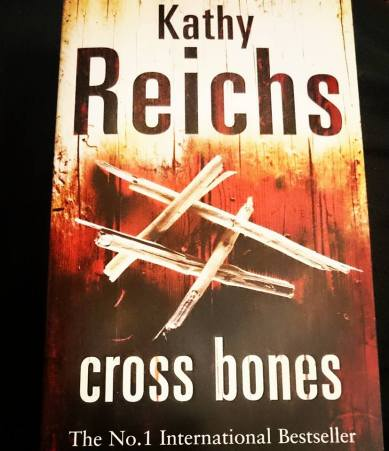 Today's A to Z Challenge entry: C for Cross Bones by Kathy Reichs. Check it out at https://literati-girl.com/2016/04/04/cross-bones-by-kathy-reichs-atoz #atozchallenge #bookreview #bookstagram ©theliteratigirl