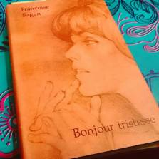 Today's #AtoZ book review: Bonjour Tristesse by Françoise Sagan. This is my family's 1961 German version of the book. https://literati-girl.com/2016/04/02/bonjour-tristesse-by-francoise-sagan-atoz/ #bookstagram ©theliteratigirl