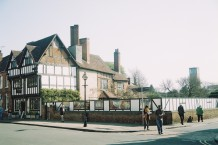 The excavation site of New Place, the remains of Shakespeares residence, in Stratford-upon-Avon in 2010. ©Literati Girl