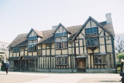 Shakespeare's Birthplace in Stratford-upon-Avon. ©Literati Girl
