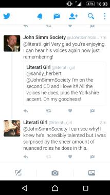 John Simm Society Screenshot