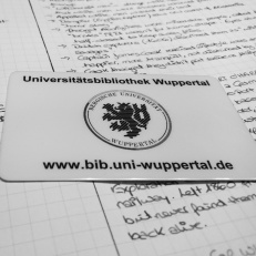 My brand-spanking new Uni Wuppertal library card. Found out that the local university, Bergische Universität Wuppertal, issues library cards to non-students as well! So I went and got this baby to research for my MA thesis. #thingswhatilearnedtoday #library #accessknowledge ©theliteratigirl