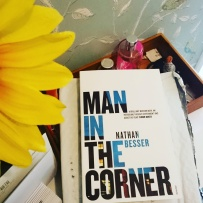 """""""There's no post on Sundays... except when next door signed for it yesterday!"""" 😀 #bookstagram #happymail all the way from Australia: Nathan Besser's Man In The Corner by #vintagebooks, recommended by none other than @snappytoes who has optioned the rights to the screenplay (neither of which I knew about when I ordered, but all the more awesome now)! Can't wait to get into this story!! ©theliteratigirl"""