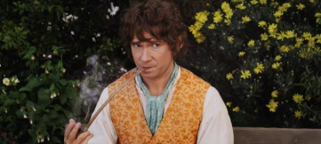 Young Bilbo Baggins (Martin Freeman) in The Hobbit, 2012