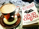 Hot chocolate and a great book #saturday #booklover #neilgaiman #goodomens #bookstagram ©theliteratigirl