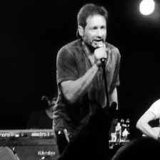 David Duchovny live on stage during his Hell Or Highwater Tour in Cologne, May 2016. ©studyreadwrite