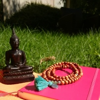 Finding my #peace, calm and balance in the #summer #sun with #yoga #meditation and #creativejournal to counter the stress from #gradschool ©theliteratigirl