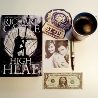 Gotta love #richardcastle! Got my hands on the latest #nikkiheat novel High Heat which was published on October 25, 2016. Love #Castle and that the show not only made writers look cool again but also that they actually DID write the books Rick claims to have written. Also kudos to @natefillion for not only doing a marvelous job portraying Castle, but also for attending Richard Castle book events! #bookstagram #highheat #Caskett #Beckett #awriterandhismuse ©theliteratigirl