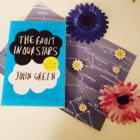#bookishscavengerhunt16 Day 4: A Book with Stars. The Fault In Our Stars by John Green. #okay #tfios #johngreen #bookstagram ©theliteratigirl