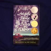 #bookishscavengerhunt16 Day 11: A Book About Love. Aristotle and Dante discover the Secrets of the Universe by Benjamin Alire Sáenz #bookstagram #ya #yalove #aristotleanddantediscoverthesecretsoftheuniverse #lovetoread ©theliteratigirl
