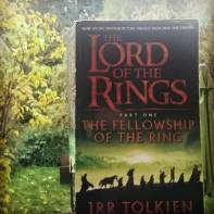 #novbookstagram Day 11: Favourite Book in a Series. The Fellowship of the Ring, the first book of the Lord of the Rings trilogy by J.R.R. Tolkien #bookstagram #fave #LotR #lordoftherings #fellowship #Hobbits #bagginsofbagend #bagginses ©theliteratigirl