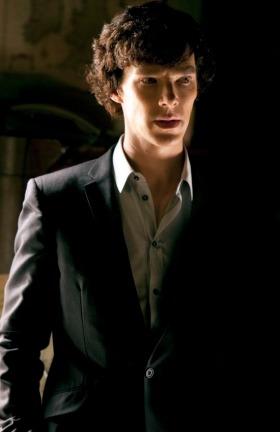 Benedict Cumberbatch as Sherlock Holmes in BBC's Sherlock