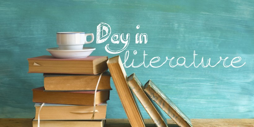 Day in literature, literary, day, birthday, author, book, holiday
