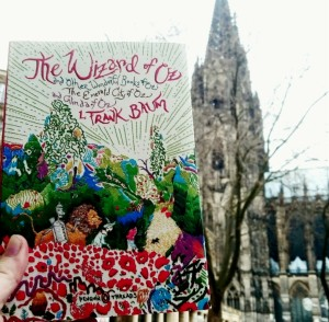 Penguin Threads edition of The Wizard of Oz & Cologne Cathedral ©theliteratigirl